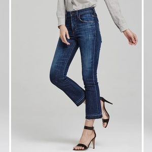 Citizens of Humanity Drew Crop Flare denim high rise jeans size 24 in Waterfront
